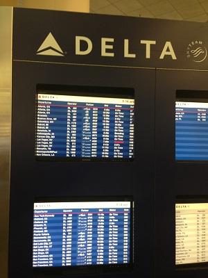 LA airpoet delta departure