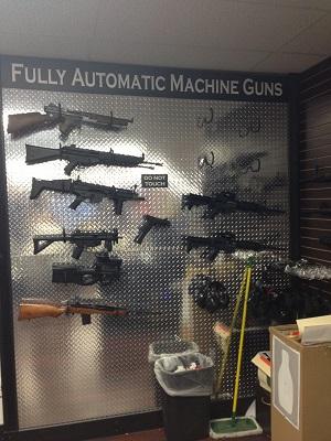 automatic guns