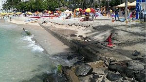 Waikiki Erosion