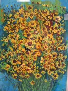 宮越博:黄色い花