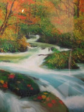 秋の渓流:石川桂子さん