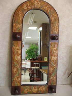 レザー・鏡