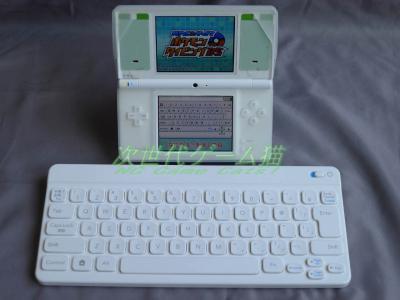 ポケモンタイピングDSのキーボードとDSi