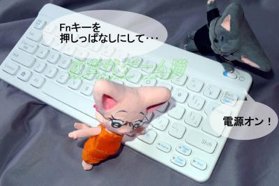 ポケモンタイピングDS同梱のニンテンドーワイヤレスキーボードをPS3で