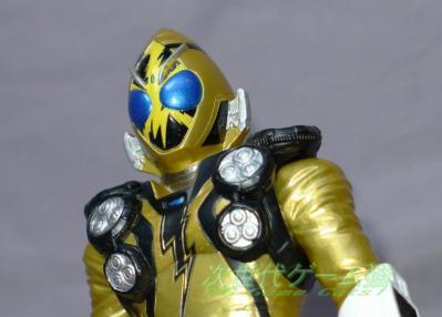 ライダーヒーローシリーズEX_仮面ライダーフォーゼエレキステイツ重塗装版