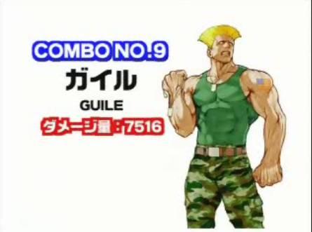 Capcom VS SNK オリジナルコンボ集(Capcom編)