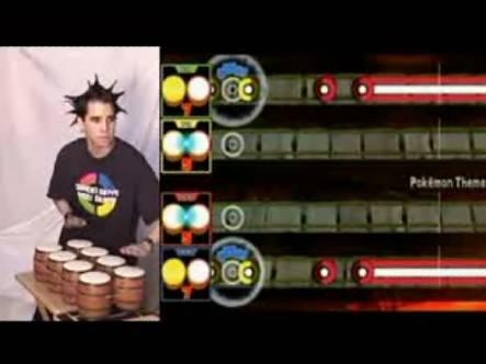 ドンキーコンガ 4Pを1人でプレイ