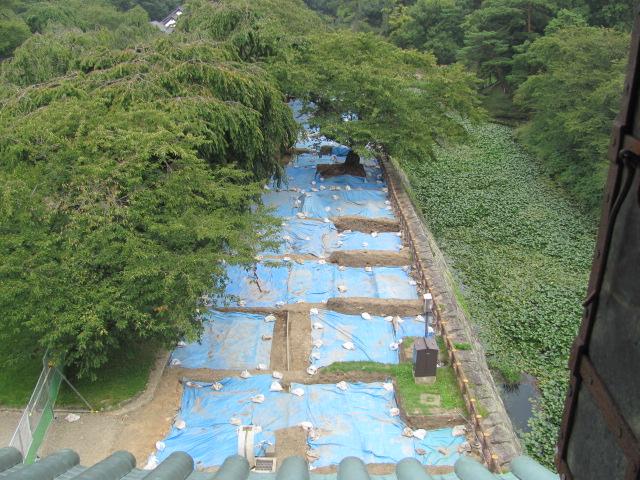 弘前城発掘調査3