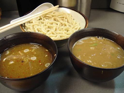 1号 2号 つけ麺