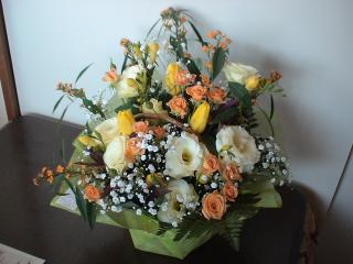 今月のお花。