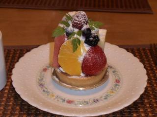 フルーツ一杯タルト