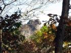 大タルミから見た獅子岩