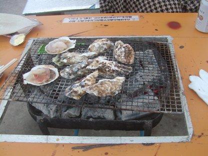 糸島カキ焼き (5)