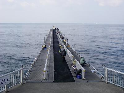 脇田海釣り桟橋