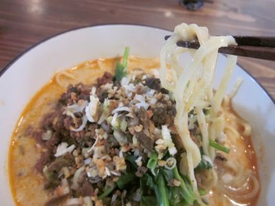 クマ猫 タン麺