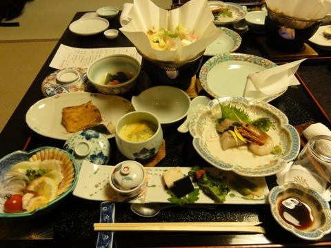定山渓のお食事(2011.05.03)