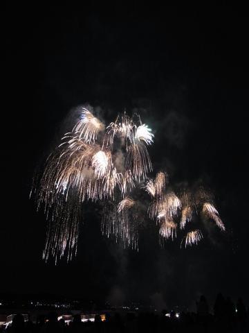 まともに撮れた花火