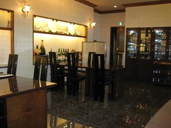 鶴亀松の間テーブル
