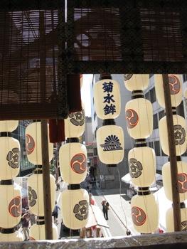 菊水鉾搭乗