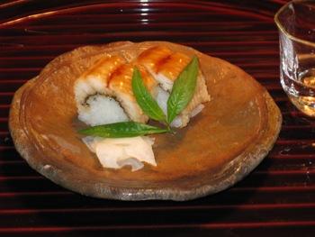萬亀楼4 鱧寿司