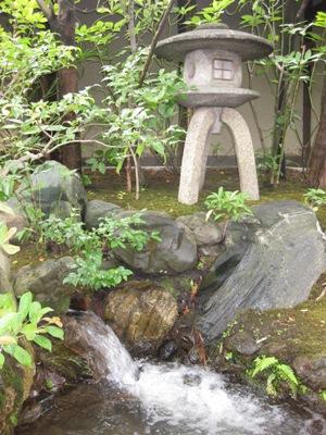並河靖之邸 庭 取水口