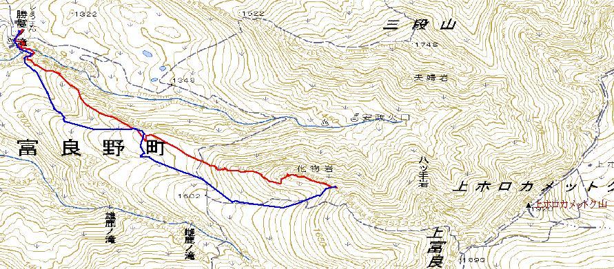 20110306_カミホロカメットク山BC