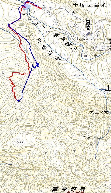 20110307_富良野岳BC