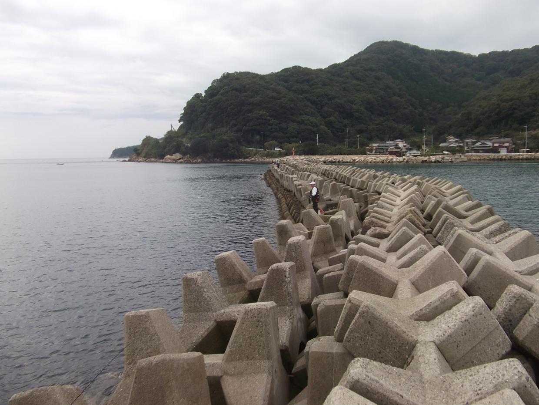 小豆島 北ヶ谷テトラ