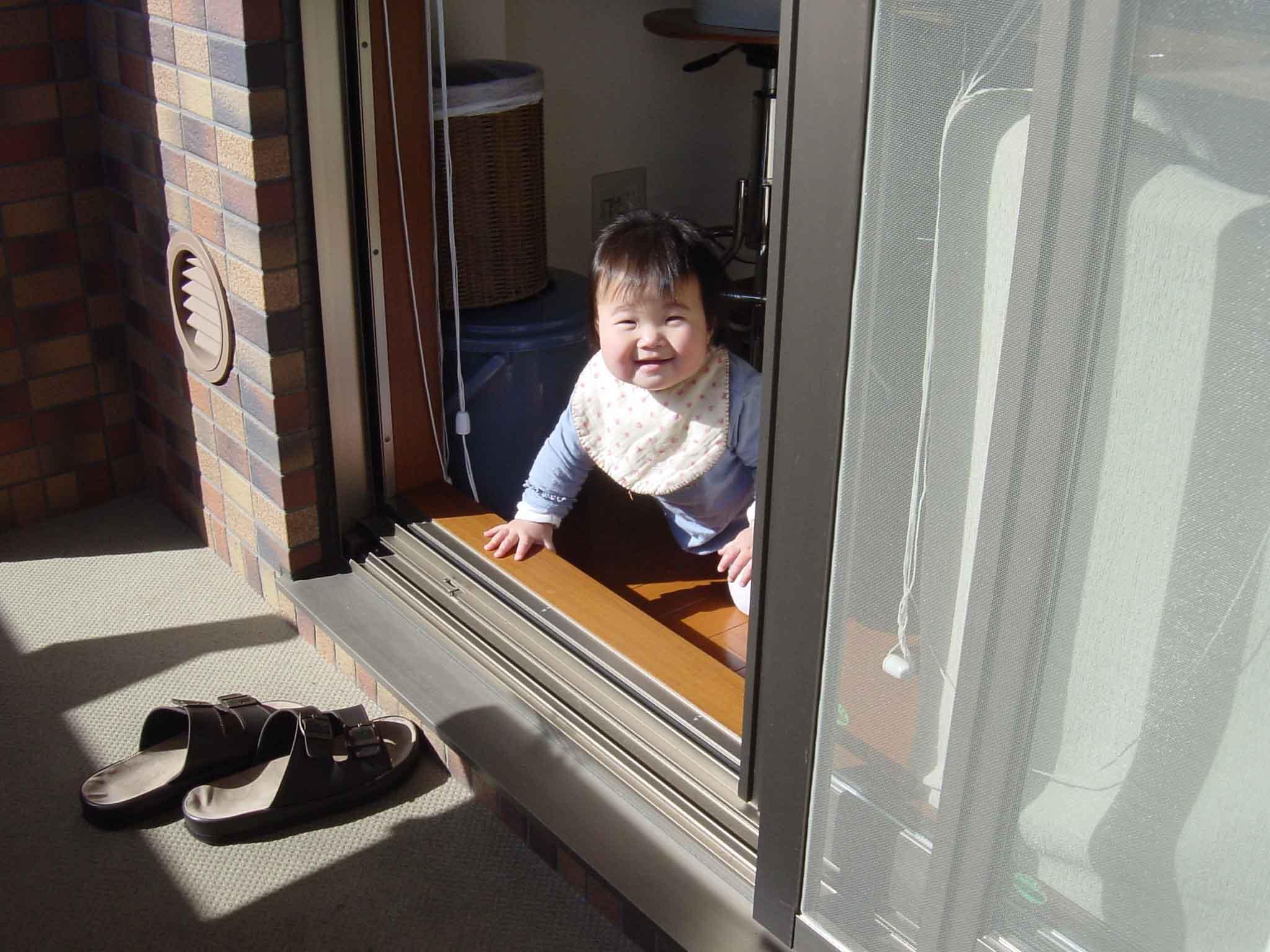 わたしも、お外にでたいよ?