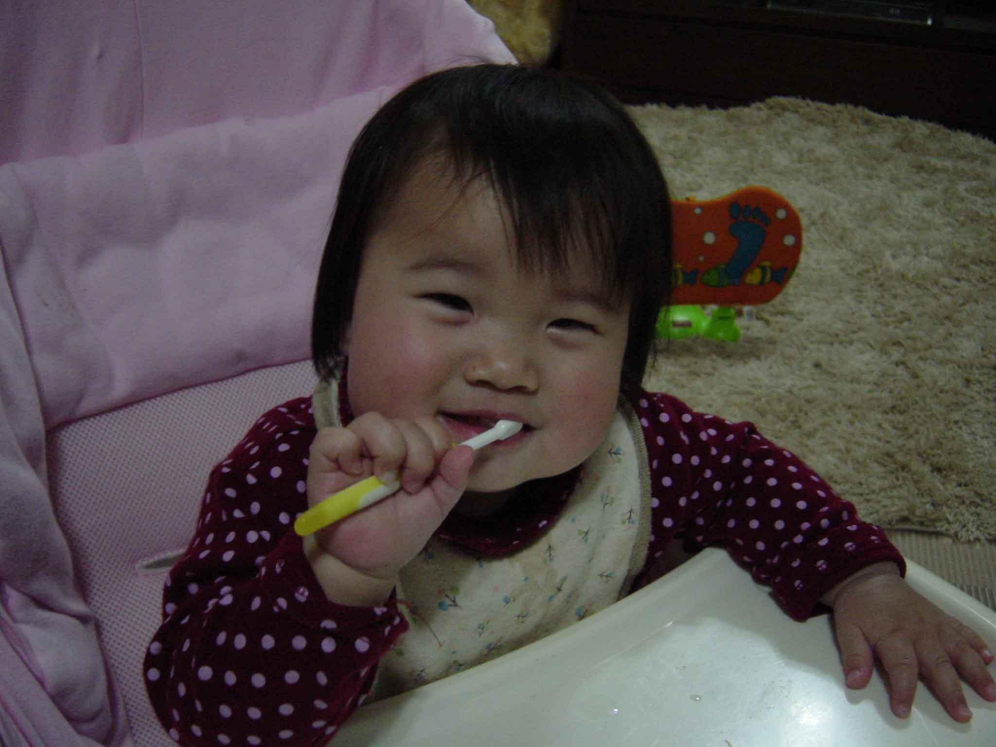 歯ブラシは、好きなんだ!