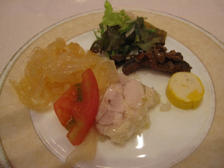 2011-11-19秋の前菜盛り合わせ1