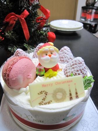 クリスマスケーキ11-12-25