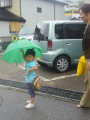 カエルの傘1
