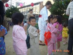 保育園夏祭り
