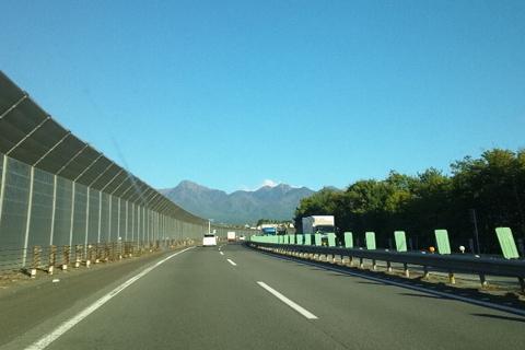 八ヶ岳(中央高速)
