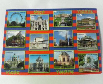 オーストリアポストカード