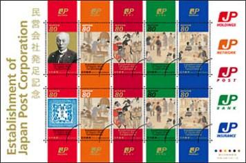 民営化切手1