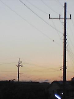 2006年08月10日 午前04時50分 東の空。