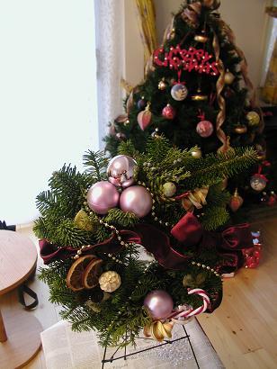 クリスマスツリーと一緒にいかがです?