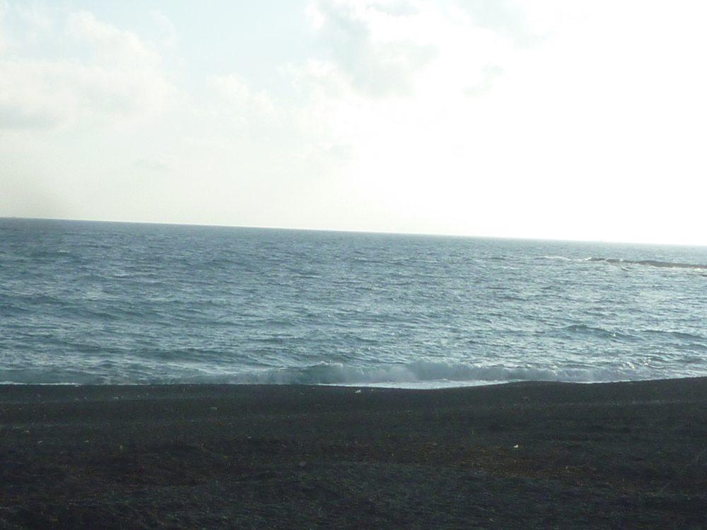 砂浜の海。いいよね~~。