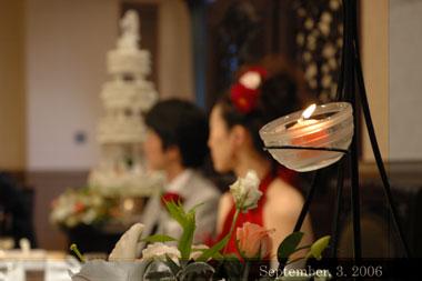 060903結婚式写真