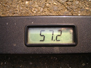 2011.8.12 008午後3時アスファルト温度