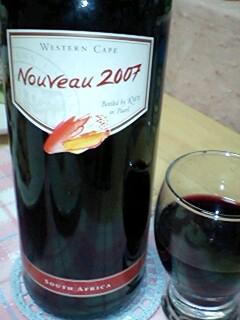 初っ赤ワイン☆