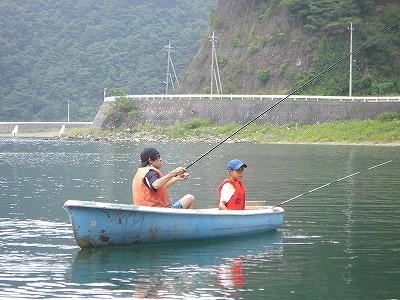 優雅に魚釣りだぜ☆