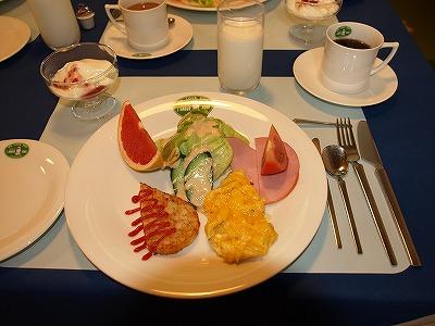 ここも朝食もバッチリ☆