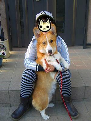 モモちゃんと飼い主のさとみちゃん☆