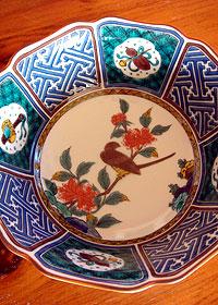 九谷焼の鉢