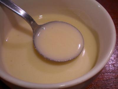 アラカルトカブスープ