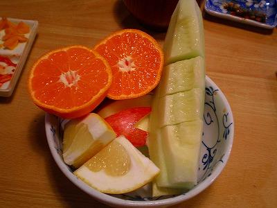 くろしを果物