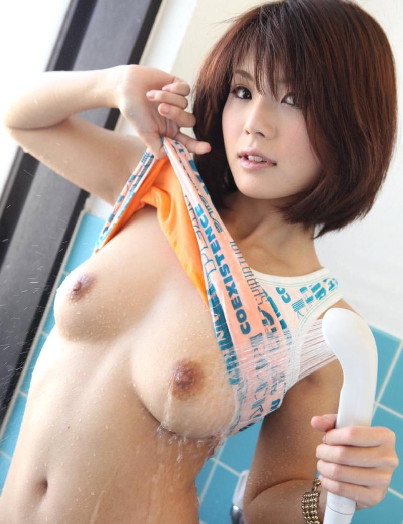 春咲みゆ下着姿 【No.9594】 シャワー / 春咲あずみ